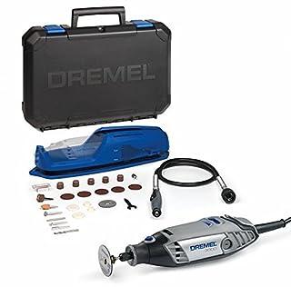 Dremel 3000 - Multiherramienta, 130 W, kit con eje flexible y 25 accesorios, velocidad variable 10.000 - 33.000 rpm para tallar, fresar, amolar, limpiar, pulir, cortar, lijar y grabar (B0156XHE90) | Amazon Products