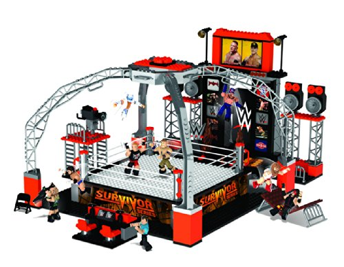 WWE-Stackdown-Survivor-Series-Deluxe-Ring-Set-with-John-Cena-Brock-Lesner-Daniel-Bryan-Hulk-Hogan-and-Ryback