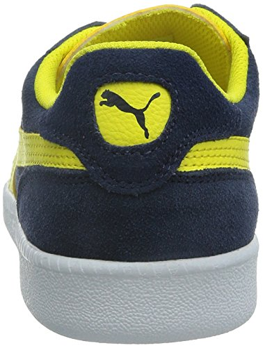 Puma Unisex Sneaker Icra Trainer SD Low-Top Blau (peacoat-buttercup 07)