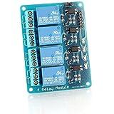 Neuftech Module de relais 5V, 4canaux, pour Arduino ARM PIC AVR DSP