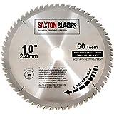 Saxton - Lame de scie circulaire 250mm x 30mm x 60 Dents pour Festool TS55 Bosch Makita Dewalt