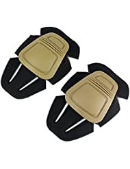Tactical Airsoft, Paintball Caza Militar–Rodilleras Protector de combate para gen3/G3BDU pantalones marrón