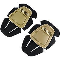 Almohadillas protectoras de la rodilla, protector de la rodilla de Airsoft Paintball caza militar militar táctico de reemplazo rodillera para los pantalones Gen3 / G3 BDU