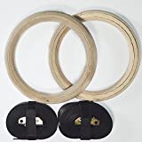 Best Gymnastic Rings - Extreme Fitness® Wooden Gymnastic Olympic Adjustable Rings For Review