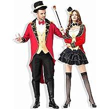 C.N. Costume da Gioco di Ruolo delle Coppie dello Smoking di Tuxedo del  Costume del Circo 89e813dd812