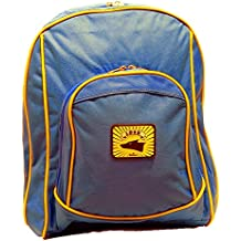 Lobo azul niños mochila escolar