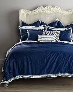 """ADream coton Home Textile Couverture de couette housse de couette , Queen (86 """"x94""""),Bleu (6PCS)"""