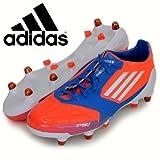 Adidas - Botas adidas f50 adizero xtrx sg lea, talla 40, color naranja / azul