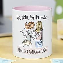 5734cecc0b99 La Mente es Maravillosa - Taza con frase y dibujo