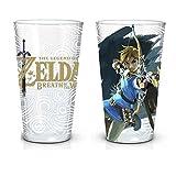 Zelda Gläser 2er Set Link Game Logo Breath of the Wild 473ml Nintendo