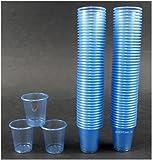450 Schnapsbecher / Medikamentenbecher / Farbe: Hellblau / 2cl – 3cl einweg Schnapsgläser / Exklusives Angebot der Marke EVENTpac