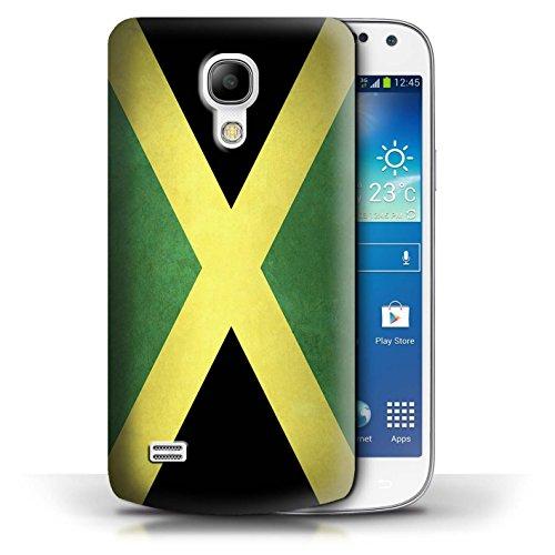 Etui / Coque pour Samsung Galaxy S4 Mini / Columbia/Colombie conception / Collection de Drapeau Jamaïque/jamaïcain