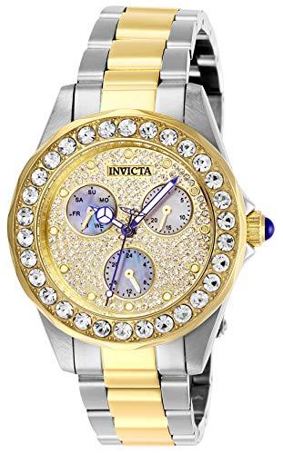 Invicta 28459 Angel Orologio da Donna acciaio inossidabile Quarzo quadrante oro