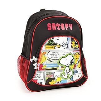 51Hfi OgrEL. SS324  - Mochila escolar Snoopy para niños mochila mochila escolar | incluye dos bolsillos de malla a los lados y mucho espacio de almacenamiento | acolchado óptimo de las correas de transporte | tamaño aprox