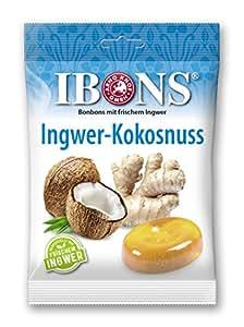 IBONS Lutschbonbons 75g (Ingwer-Kokosnuss)