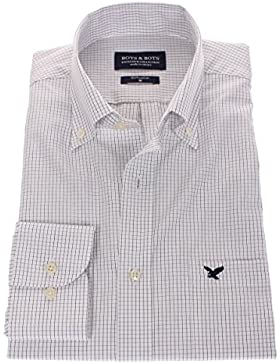 178630 - Bots & Bots - Camicia Uomo - Exclusive Collection - 100% Cotone - Button Down - Normal Fit