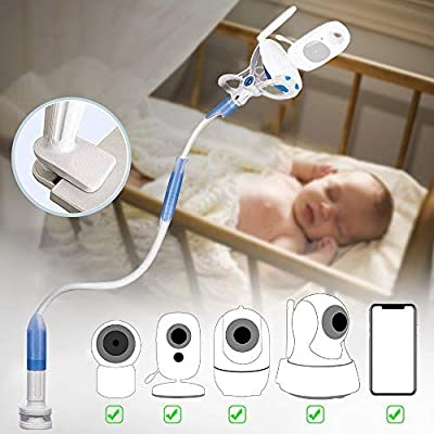 Universal Baby Video Monitor Holder - Flexible Baby Camera Mount Shelf for Your Baby, No Drilling Smartphone Stand Holder