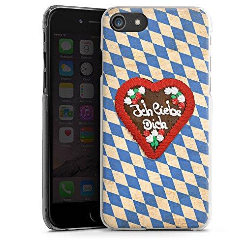 Apple iPhone X Silikon Hülle Case Schutzhülle Love Muster Oktoberfest Hard Case transparent