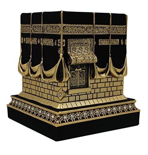 Islamische Home Tisch Decor Schultertasche Kaba Replika Modell Vorzeigeobjekt Gold Schwarz 1960