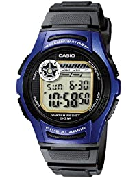 Casio Collection – Reloj Hombre Digital con Correa de Resina – W-213-2AVES