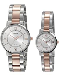 Timex Analogue Silver Dial Men'S And Women'S Watch- Tw00Pr213