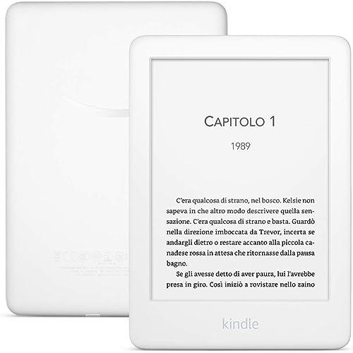 Kindle, ora con luce frontale integrata - Con offerte speciali - Bianco