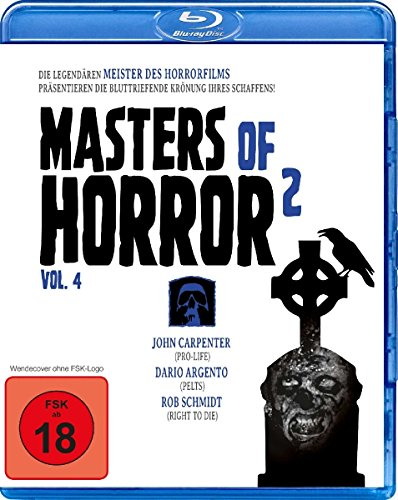 Masters of Horror Vol. 2 - Vol. 4 (Carpenter/Argento/Schmidt) [Blu-ray]