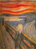 1art1 82967 Edvard Munch - Der Schrei, 1893 Poster Kunstdruck 80 x 60 cm