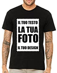 Idea Regalo - VILLAGESTORE T-Shirt Personalizzabile Stampa Fronte