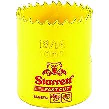 Starrett 63FCH040 - Corona perforadora (40 mm ) color amarillo