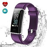 Yakuin Fitness Armband Aktivitätstracker Smartwatch mit HD Farbdisplay