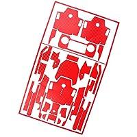Sharplace Drone Cuerpo Etiquetas Engomadas de Brazo de Control Remoto Pegatinas de Piel para DJI MAVIC Favorable - Rojo