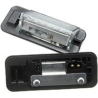 katur 1par 12V Bombilla de 18LED licencia número placa lámparas de luz para BMW Serie 3E361992–1998Car Styling Led coche lámpara