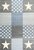 Livone Spielteppich Moderner Teppich mit Konturenschnitt Kinderzimmer...