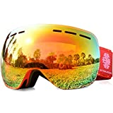 Best Uvex Goggles For Women - Snowledge Ski Goggles Womens - Frameless Skiing Snow Review