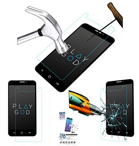 Acm Tempered Glass Screenguard For Micromax Yu Yureka A05510 Mobile Screen Guard Scratch Protector  available at amazon for Rs.179