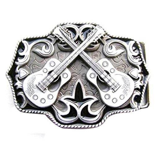 Hebilla occidental de la música Country, guitarra - hebilla
