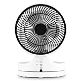 Klarstein Touchstream • Ventilateur de Table • Silencieux• Ø 25cm • 3 Vitesses • Blanc...