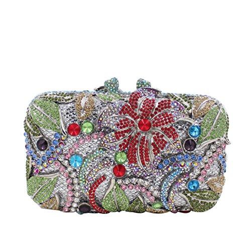 Damenhandtasche Kristall Der Brauttasche Handtasche B