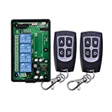 BWSS 433 MHZ fernbedienung 110V 220V 4CH RF Wireless Remote Control System, Funkschalter fernschalter 220V Lernen code empfänger AC85V~250V