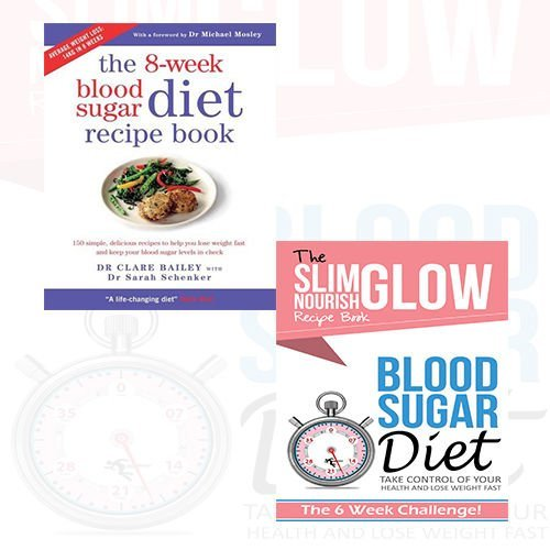 Blood Sugar Diet Take Control of your health and Lose Weight Fast and 8-Week Blood Sugar Diet Recipe Book 2 Books Bundle Collection by Cook Vitality (2016-11-09)