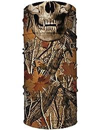 846e405dcd6d SA Face Shield Bandana Écharpe Masque Forest Camo Skull - L ORIGINAL -