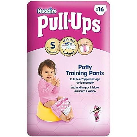 Huggies Pull-Up Dei Pantaloni Di Formazione Vasino Per Le Ragazze Formato 4 Piccoli 8-15Kg (16)