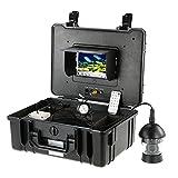 Lixada 7 'Professionelle LCD-Unterwasserfischen Kamera Angel-Echolot 360 Grad Drehbaren CCD 650TVL...