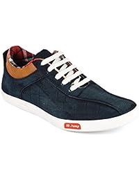 CF_Better Deals   Synthetic  Blue-White Color Casual Shoe 