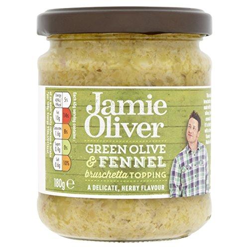 "Jamie Oliver \""Bruschetta - grüne Oliven & Fenchel\"" 180g"