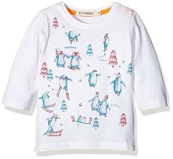 Billy Bandit Billybandit Baby Boys 0-24m V05073 T-Shirt, White, 2 Years