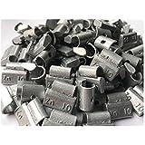 Kursport Contrapesas de zinc universales para llantas de aluminio, tipo clip (Caja de 100