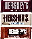 Hersheys Chocolate Bar Mix (Cookies & Cream, Chocolate Cookies, Chocolate)