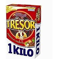Kellogg's tresor chocolat noisettes 1kg - Livraison Gratuite pour les commandes en France - Prix Par Unité